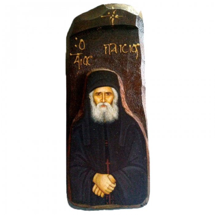 WOODEN ICON N8 - SAINT PAISIOS