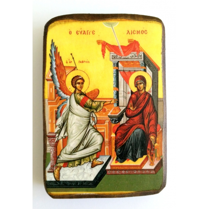 BOMBONNIERE ICON OF THE ANNUNCIATION A0