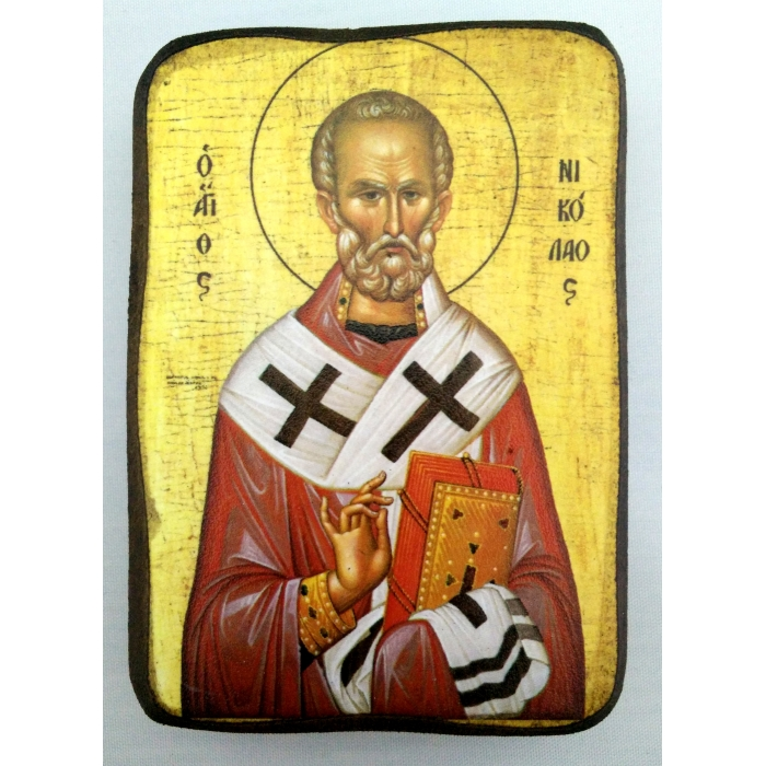 BOMBONNIERE ICON OF SAINT NICHOLAS A0