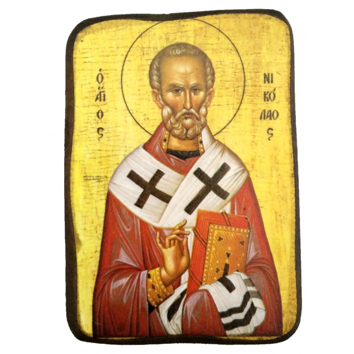 ICON OF SAINT NICHOLAS A0