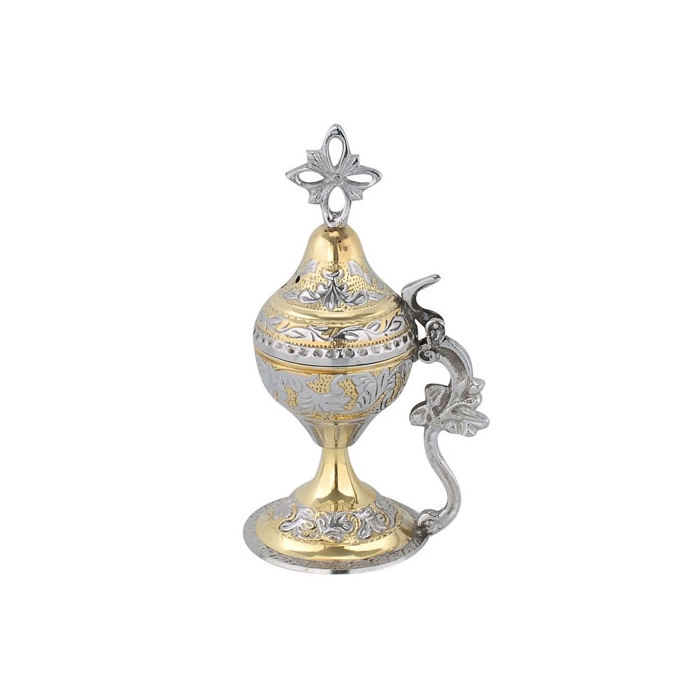 BRONZE HOME CENSER (7698GN/7)
